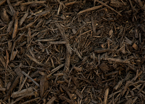 4 Premium Dark Brown Tinted Mulch A Classic Cut Lawn