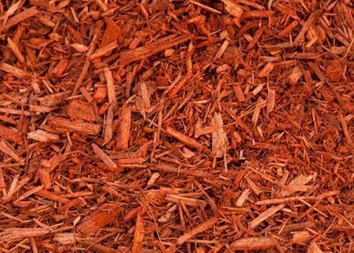 6 Premium Tinted Red Medium To Fine Mulch A Classic