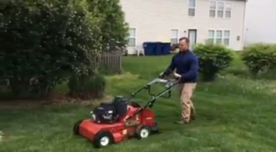 Core Aeration in Fishers by A Classic Cut Lawn Care