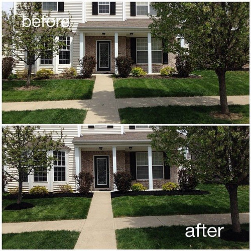 Low Maintenance Landscaping Ideas For A Stress Free 2018: Before & After In Saxony, Fishers