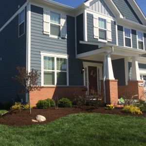 mulch installation in fishers indiana