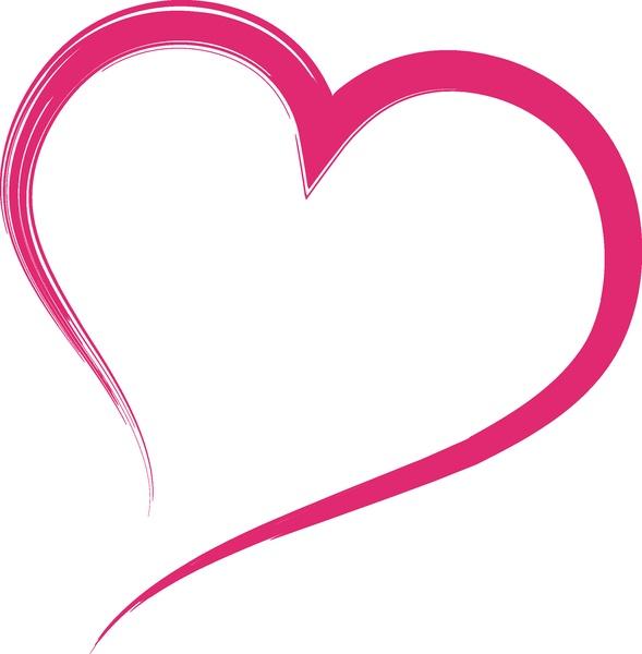 Open Pink Heart Loving A Classic Cut A Classic Cut