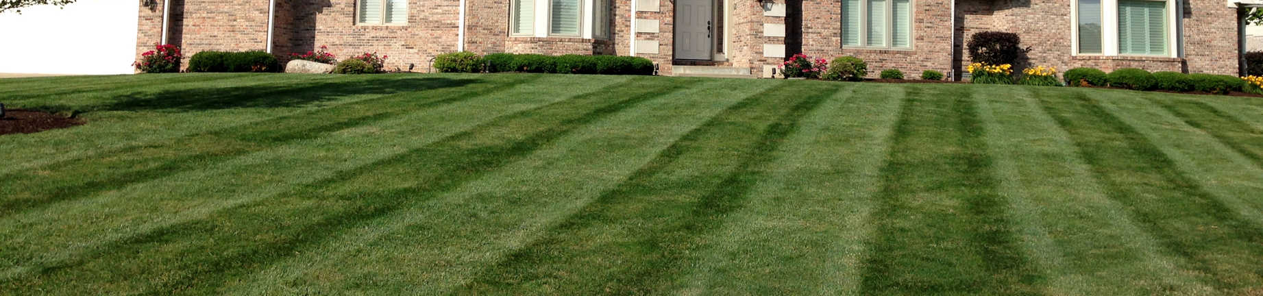 Weekly Lawn Maintenance - Geist Harbors a